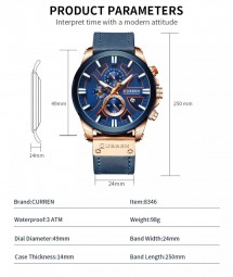 Curren Heren Horloge