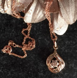 Rose Gold Plated Ketting