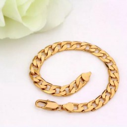 gold plated armband 10 mm