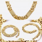 RVS gold Plated Set